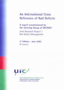 An International Cross Reference of Rail Defects