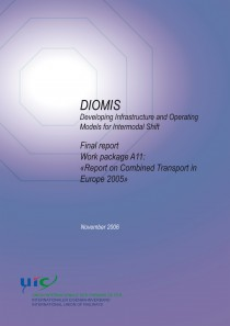 "DIOMIS.Final report Work package A11: ""Report on Combined Transport in Europe 2005"""