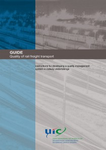 GUIDE -Quality of rail freight transport