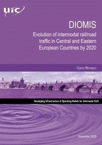 DIOMIS - Czech Republic  Evolution of intermodal rail/road traffic in Central and Eastern European Countries by 2020