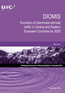 DIOMIS - Bulgaria  Evolution of intermodal rail/road traffic in Central and Eastern European Countries by 2020