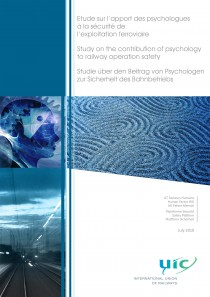 Study on the contribution of psychology to railway operation safety