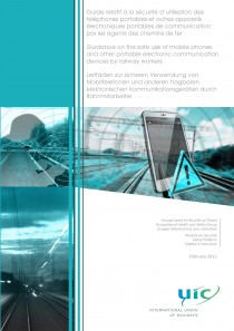 Guidance on the safe use of mobile phones and other portable electronic communication devices  by railway workers