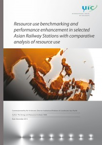 Resource use benchmarking and performance enhancement in selected Asian Railways Stations with comparative analysis of resource use