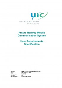 Future Railway Mobile Communication System