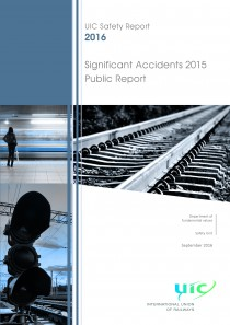 UIC Safety Report 2016 - Significant Accidents 2015 - Public Report