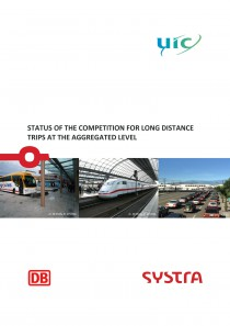 Status of the competition for long distance trips at the aggregated level