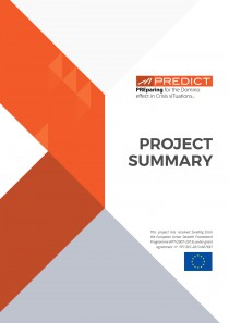 PREDICT - Preparing for Domino effect in crisis situation - Project summary