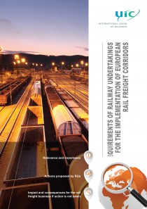 Requirements of Railway Undertakings for the Implementation of European Rail Freight Corridors