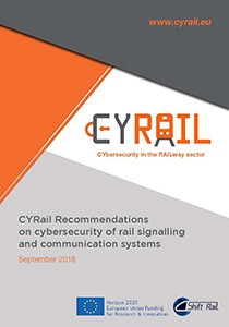 CYRail Recommendations on cybersecurity of rail signalling and communication systems