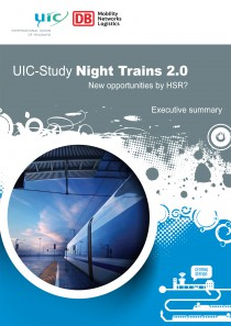 UIC Study night trains brochure. New opportunities by HSR ? Executive summary