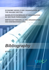 Economic models and organisation of the railway sector