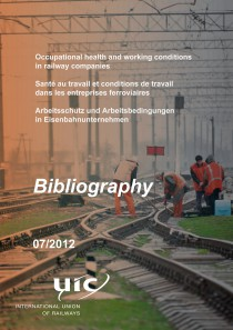 Occupational health and working conditions in railway companies