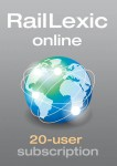 RailLexic, online subscription - 20 users