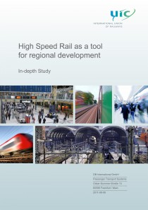 High Speed Rail as a tool for regional development