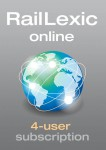 RailLexic, online subscription - 4 users
